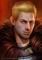 Cullen portrait by ynorka