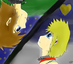Sora and Roxas Distance by sophloulou