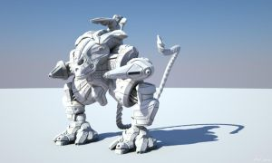 Guild Wars: Mecha Clay by sergiosoares
