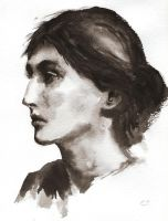 Virginia Woolf by delph-ambi