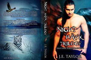 Paperback Night Hawk Trilogy by CoraGraphics