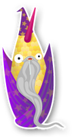 Wizard Cornicorn by cubecrazy2
