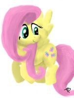 Flying Fluttershy by Gioku