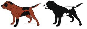 Pit bull adoptables OPEN by petshop101