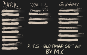 P.T.S - Blotmap Set VIII by K-OG