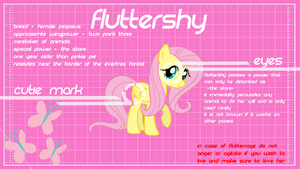 Fluttershy Design 2.0 by ikonradx