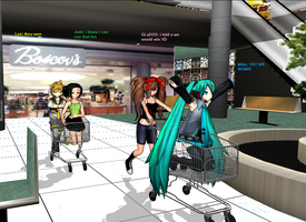 Cart Race XD by MMDGLaDOS
