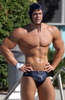 Muscular Swimmer 1 by Stonepiler
