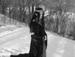 Arwen Mourning Gown 2 by ThreeRingCinema
