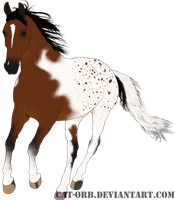 SOLD Adoptables 2: Bay Paintaloosa by Cat-Orb