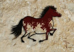FIN-Cave-Horse-07-Painted by NorthumbrianArtist