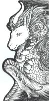Bookmark- Kirin by cryztaldreamz