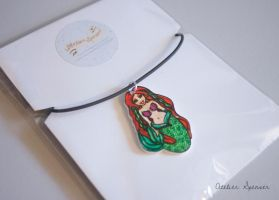 Mermaid Pendant Necklace by MaverickMae