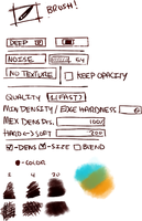 Deep Brush Settings by kingingly