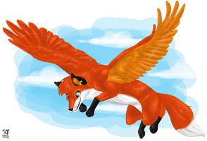 Flying Fox by DodgerMD