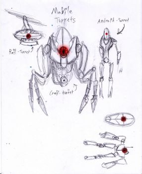 Alternate Turrets by Exleston
