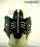 ''Ramulator'' Cybernetic Electro Alien gas mask by TwoHornsUnited