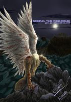 WOUNDED ANGEL - Scionia WebComic Cover Art by The-Nameless-Poet