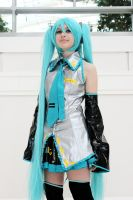 Hatsune Miku Cosplay by vocimecosplay