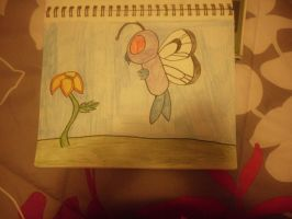 Butterfree by CaitlinTheLucario