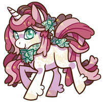 Unicorn Pony Adopt: CLOSED by Pinky-Ponies