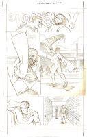Titus page 2 pencils by ScottEwen