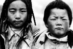 Tibetan children by Peanutsalad