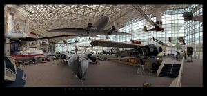 Museum of Flight Panorama by UrbanRural-Photo