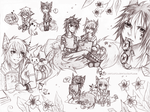 Sketchpage for Tianshii [commission] by nerinrin
