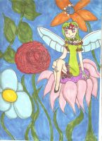 Flower fairy by MikachuNinjamon