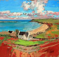 Bay at Trotternish by NaismithArt
