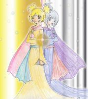 Charlotte and Tia .:Precure NLA:. by CandySkitty