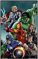 Avengers Assemble! by Tollbooth10