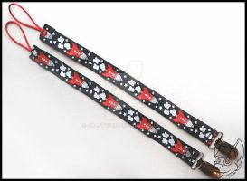 [FOR SALE] Ready To Go Pacifier Clips - ROCKETS by CraftyPup