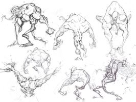 Venom Sketches by spundman
