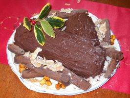 Yule Log by Bisected8