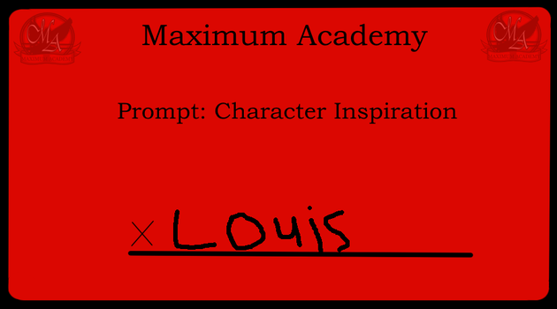 Louis's writing prompt by Pikapowered