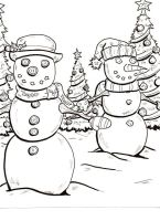 holiday coloring book page 4 by lagatowolfwood