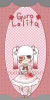 . guro bookmark - ae o9 . by patternfactory