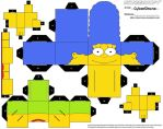 Cubee - Marge Simpson by CyberDrone