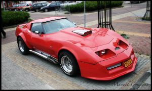 1977 Chevrolet  Corvette by compaan-art