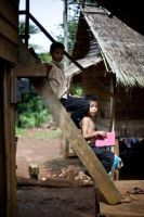 Laos Village Life XI by emrerende