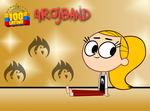Grojband - Kate Persky Feet by 100latino