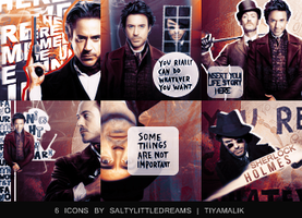 Sherlock Holmes | Icons by saltylittledreams