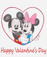 Mickey and Minnie's Valentine by NY-Disney-fan1955