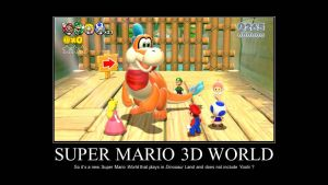Super Mario 3D World... by AtomicLugia