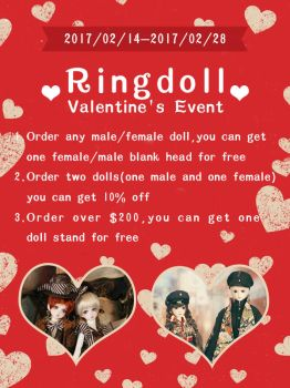 Ringdoll Valentine's Event by Ringdoll