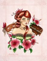 :Gift: Angeline by Linelana