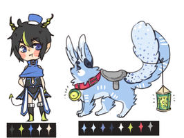 [Adopt Auction]  -sassy boy and riding pet- closed by myneea