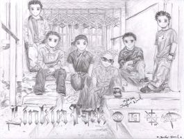 LINKIN PARK_ChibiStyle_YaY by JeBeNa0721